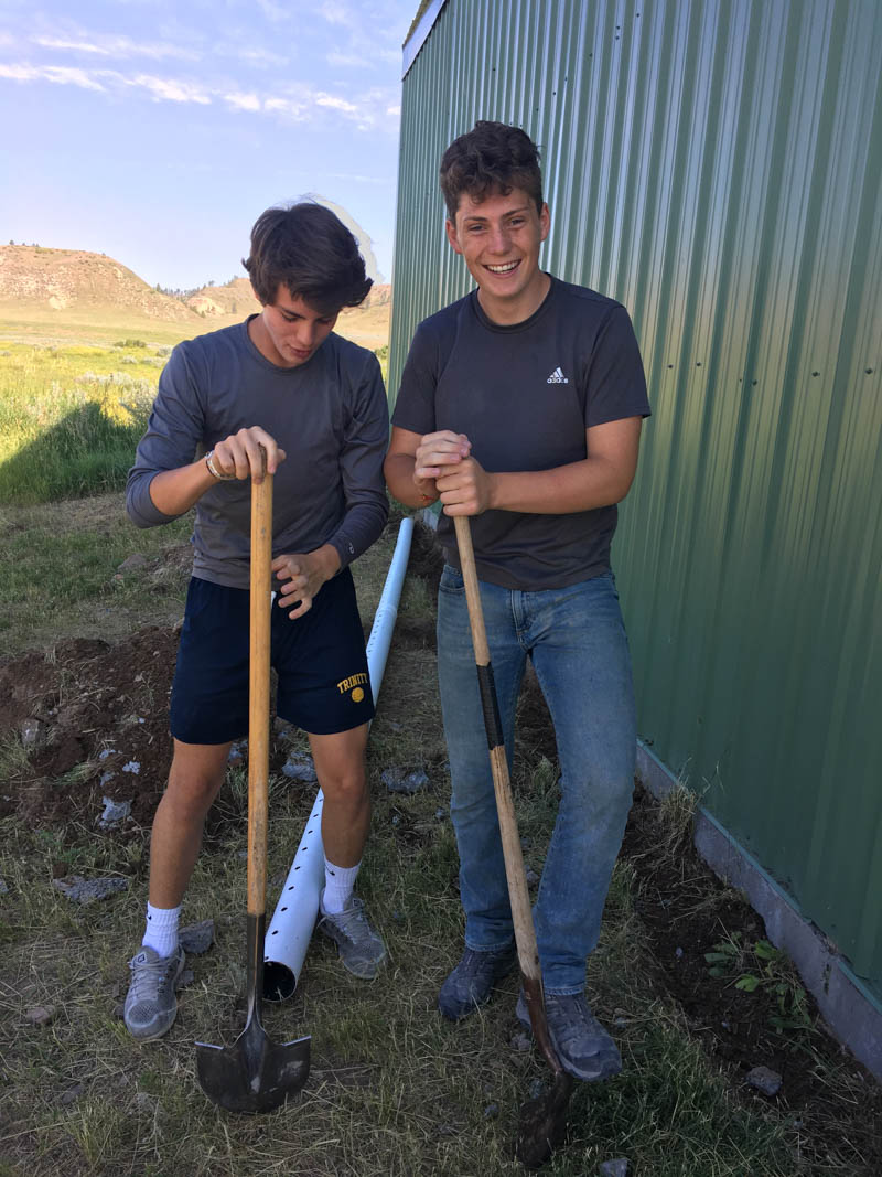 VISIONS Montana Northern Cheyenne reservation community service projects