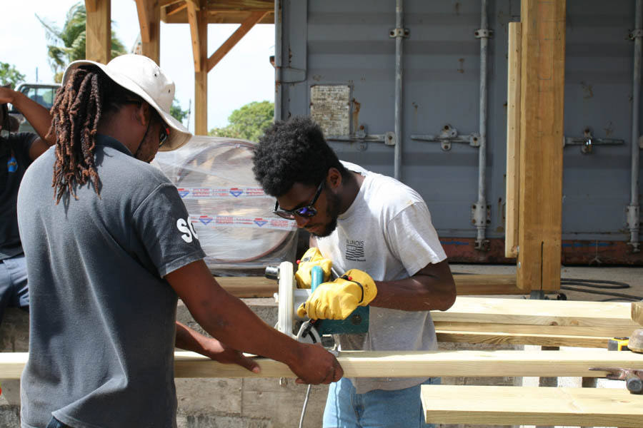 Guadeloupe community service projects